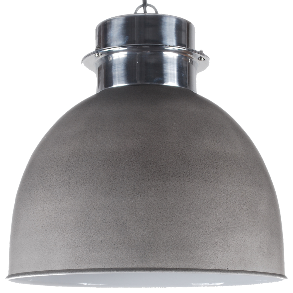 Collectione hanglamp prato 50 cm cement kleur for Collectione lampen