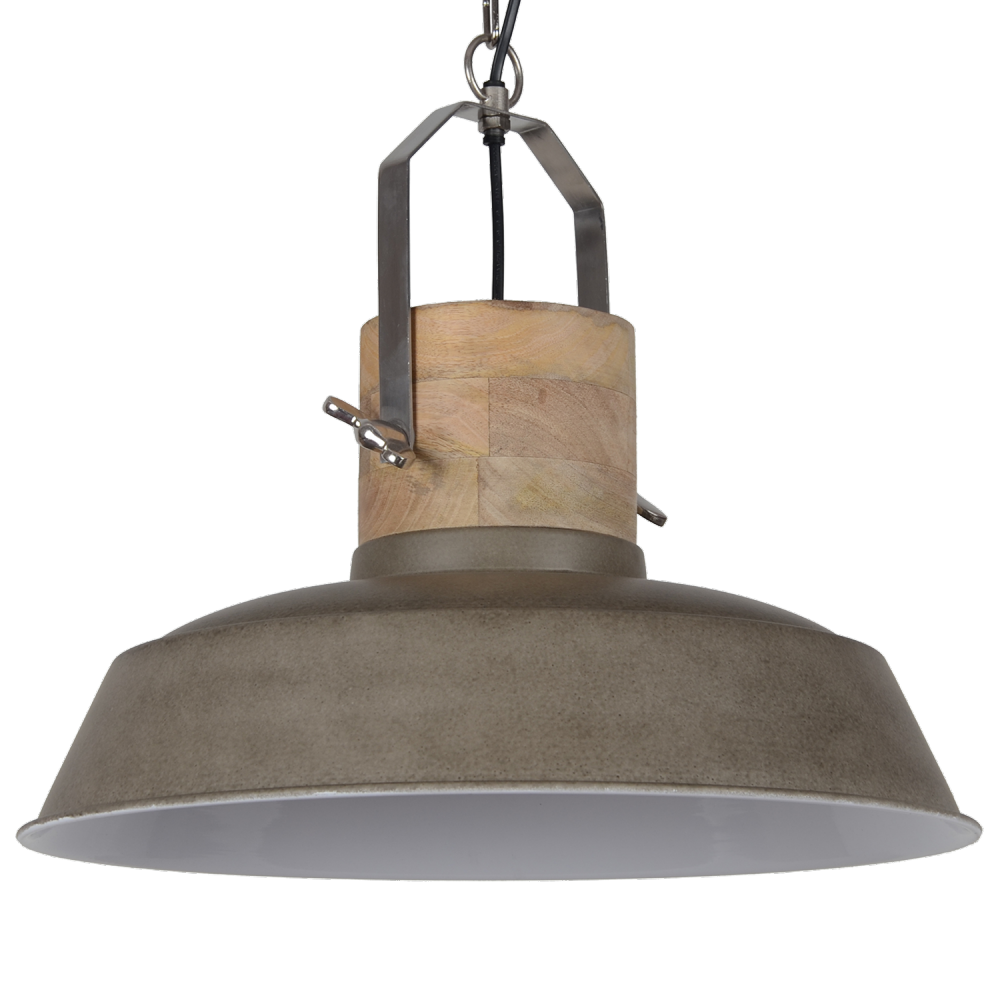 Collectione hanglamp loreto 62 cm cement kleur for Collectione lampen